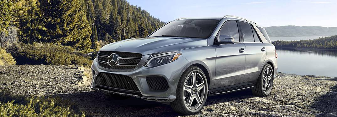 2019 Mercedes-Benz GLE parked on a beach