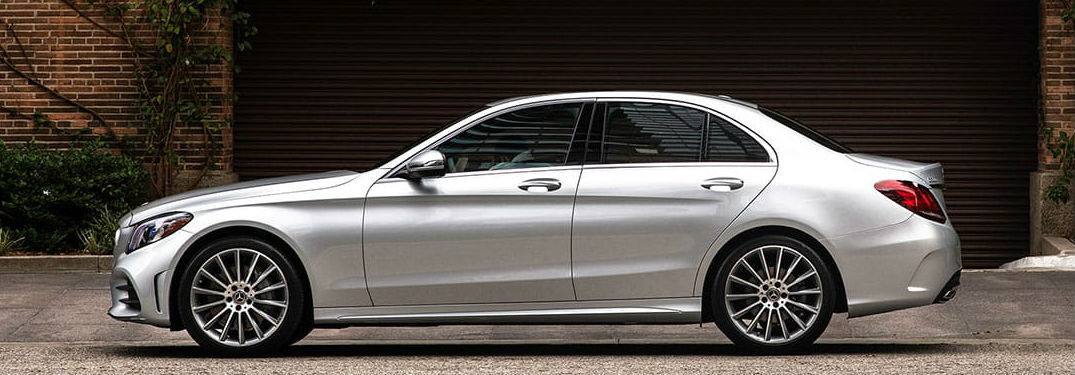 2019 Mercedes-Benz C-Class sedan side profile
