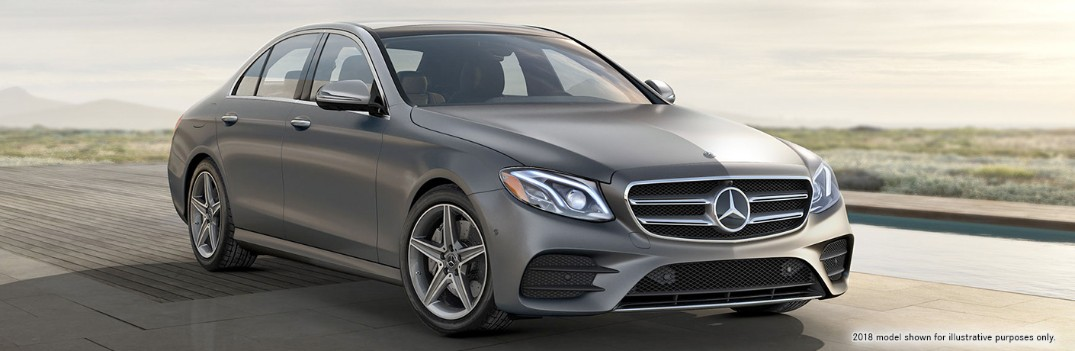 How much space is in the 2019 Mercedes-Benz E-class?