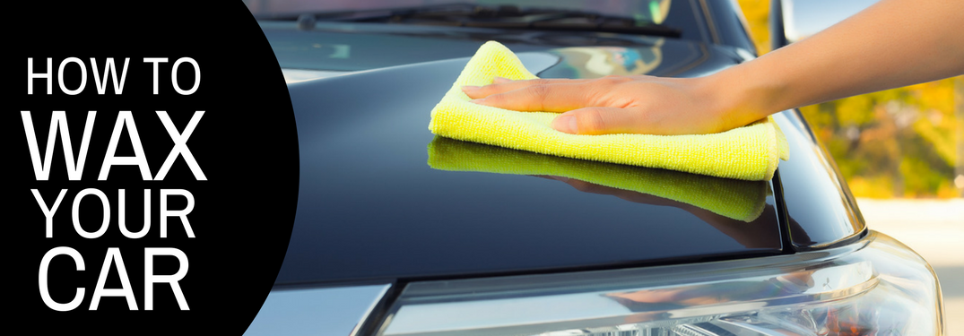 How to wax your car on a car hood being waxed background