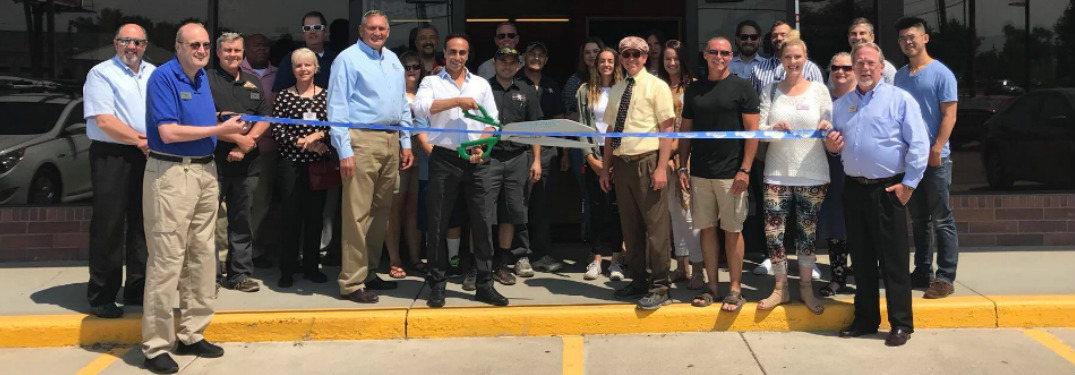 Image Auto staff during their ribbon cutting ceremony in West Jordan, Utah