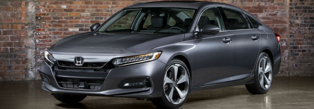 grey 2019 honda accord parked