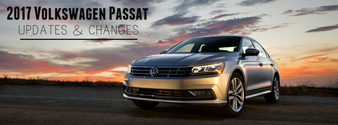 what s new on the 2017 volkswagen passat. Black Bedroom Furniture Sets. Home Design Ideas