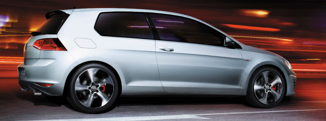 2017 VW Golf GTI Side Exterior Silver - What are the 2017 VW Golf GTI interior designs?