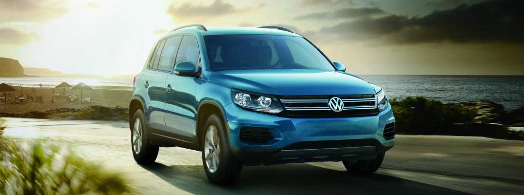 What comes in the 2017 VW Tiguan Limited