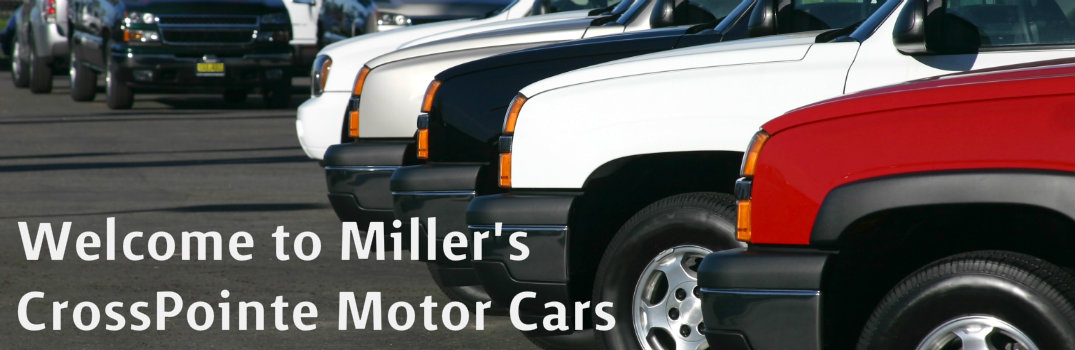Welcome to Miller's CrossPointe Motor Cars