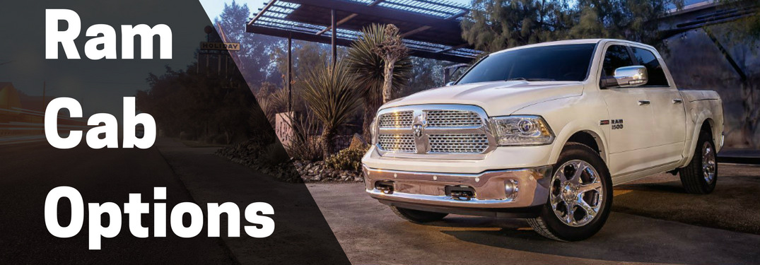 Which Kind of Ram Truck Cab Should I Get on my Truck?