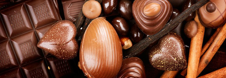 close up off assortment of chocolates