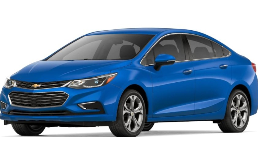 2018 Chevy Cruze in Kinetic Blue Metallic