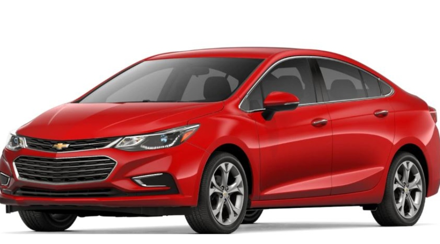 2018 Chevy Cruze in Red Hot