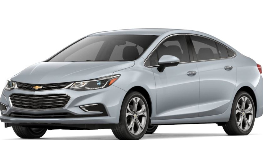 2018 Chevy Cruze in Silver Ice Metallic