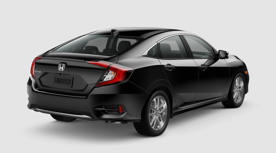 2019 Honda Civic in Crystal Black Pearl