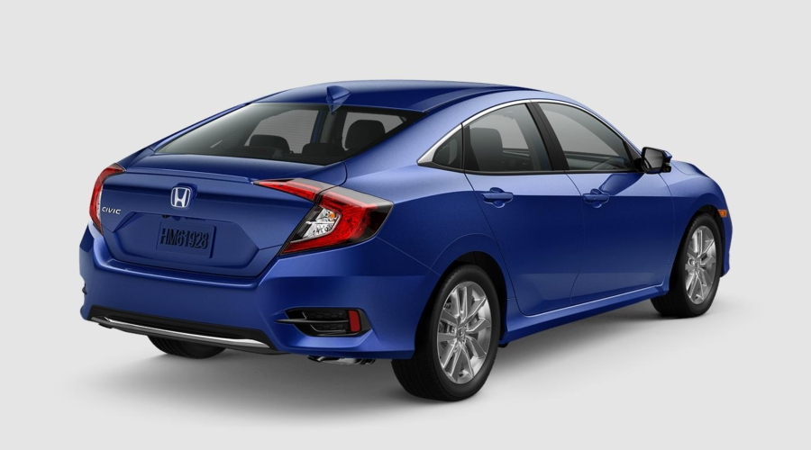 2019 Honda Civic in Aegean Blue Metallic