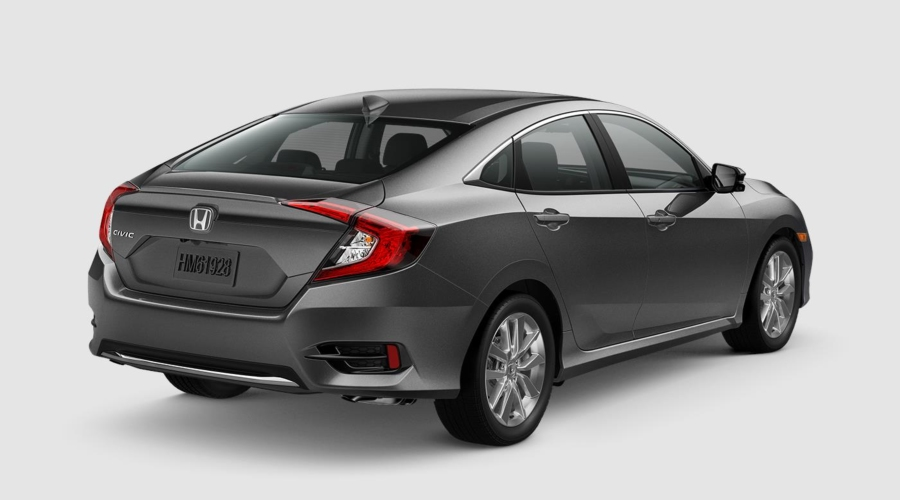 2019 Honda Civic in Modern Steel Metallic