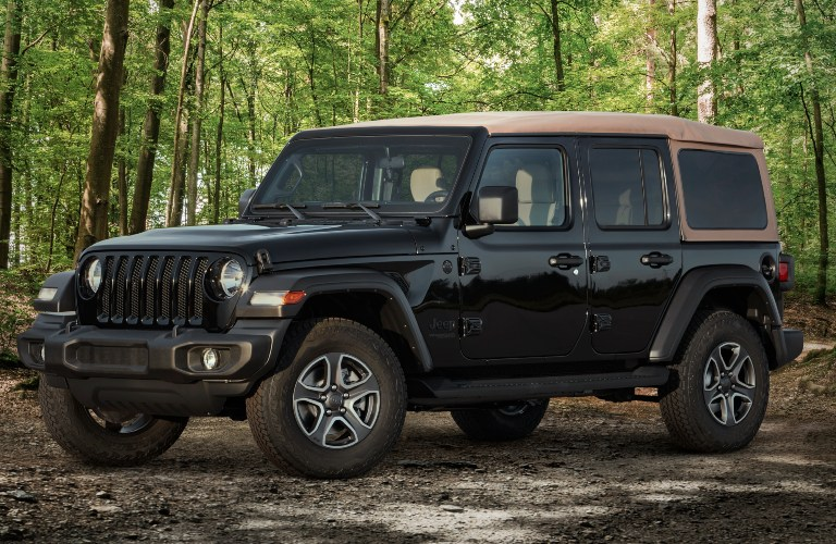 2020 Jeep Wrangler Black and Tan Edition