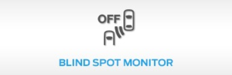 Ford Blind Spot Monitor Warning Light