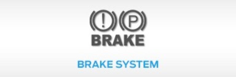 Ford Brake System Warning Light