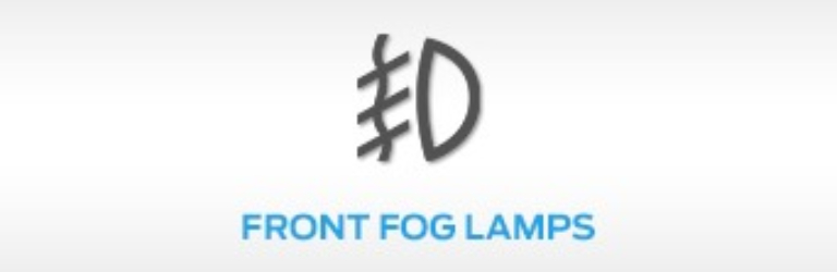 Ford Front fog Lamps Warning Light
