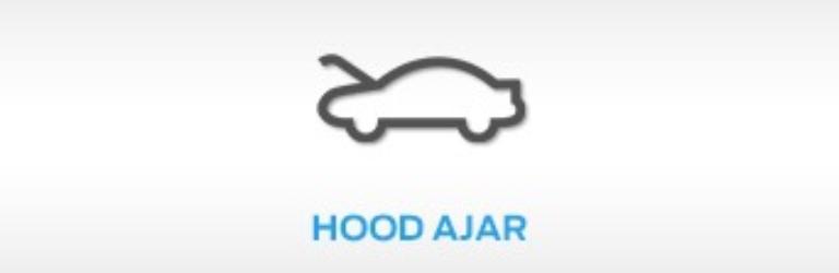 Ford Hood Ajar Warning Light