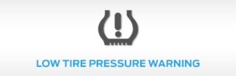 Ford Low Tire pressure Warning Light