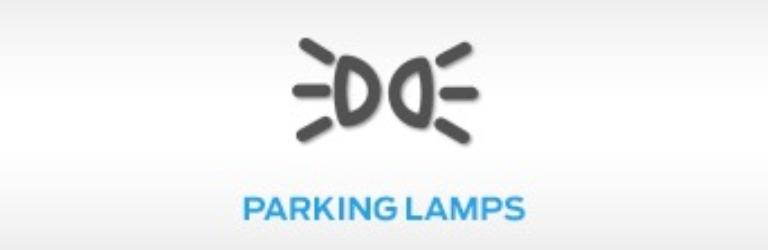 Ford Parking Lamp Warning Light