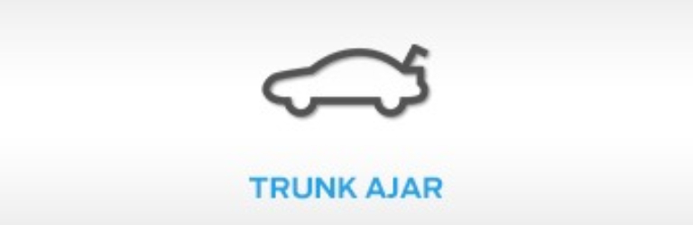 Ford Trunk Ajar Warning Light