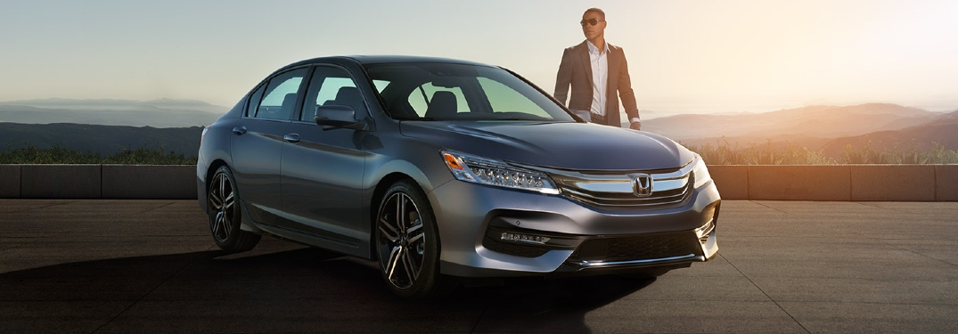 Man standing by 2017 Honda Accord