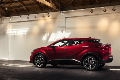 2018 C-HR parked in industrial building