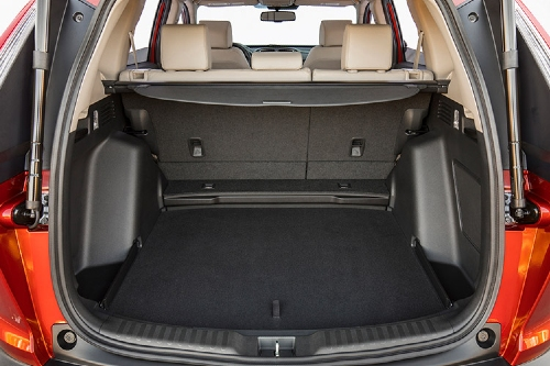 2017 CR-V cargo bay showcase
