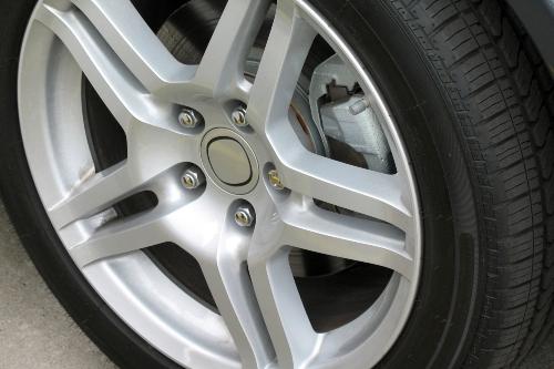Alloy wheel close-up