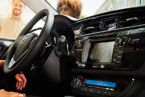 2015 Corolla cockpit