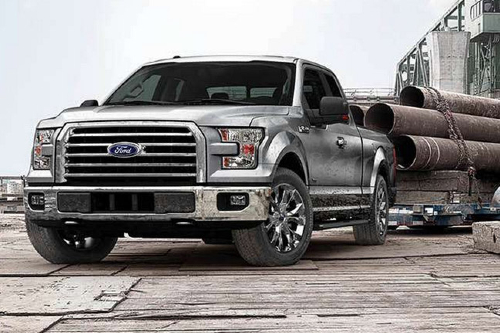 2015 F-150 pulling a trailer