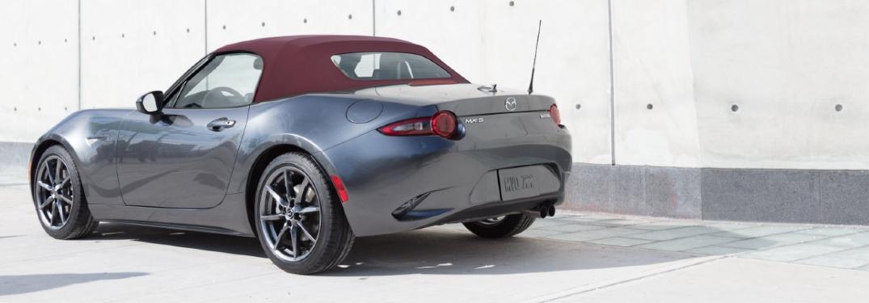 2018 Miata rear exterior view