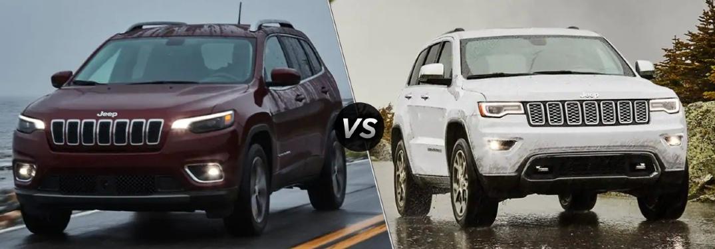 2021 Cherokee vs 2021 Grand Cherokee