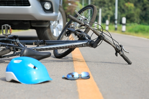 implied bicycle-vehicle accident