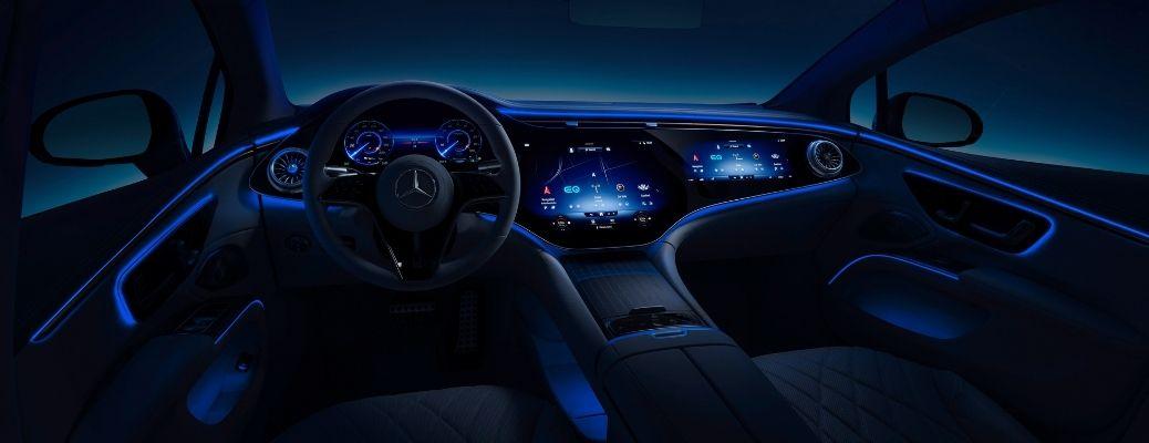 2021 Mercedes EQS Mercedes-Benz User Experience (MBUX) Multimedia System