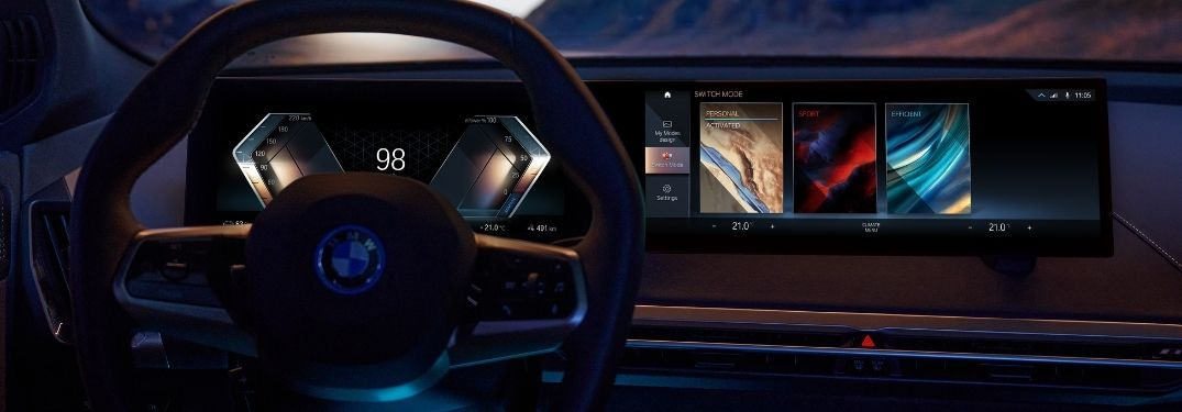 What is special about the BMW iDrive 8 infotainment system?