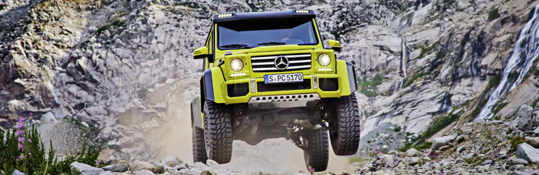 2017 Mercedes-Benz G550 4x4² Features and Release Date