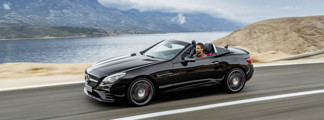 Here's a look at the new 2017 Mercedes-Benz SLC interior & exterior