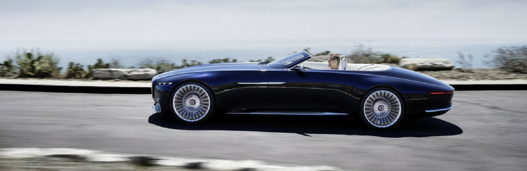Vision Mercedes-Maybach 6 Cabriolet Exterior and Interior Features