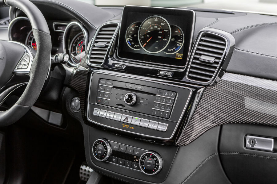 Used Suv Under 10000 >> 2017 Mercedes-AMG GLE Coupe SUV front interior display ...