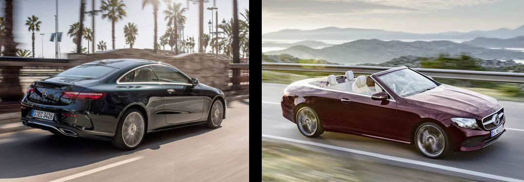 2018 Mercedes Benz E Class Coupe Vs Convertible