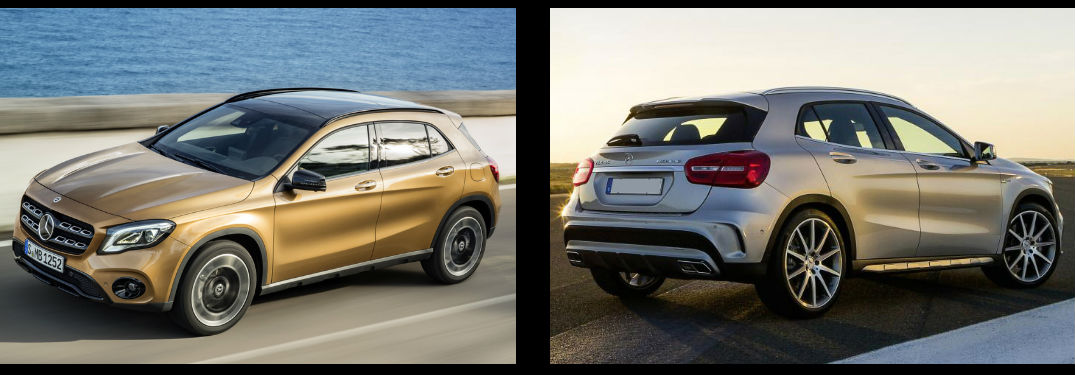 2018 mercedes benz gla vs 2017 mercedes benz gla for Mercedes benz service b coupons 2017