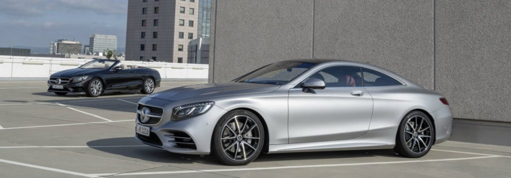 2018 Mercedes Benz S Class Coupe And Cabriolet Release Date