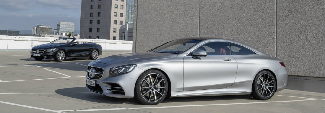 2018 Mercedes-Benz S-Class Coupe and Cabriolet Release Date