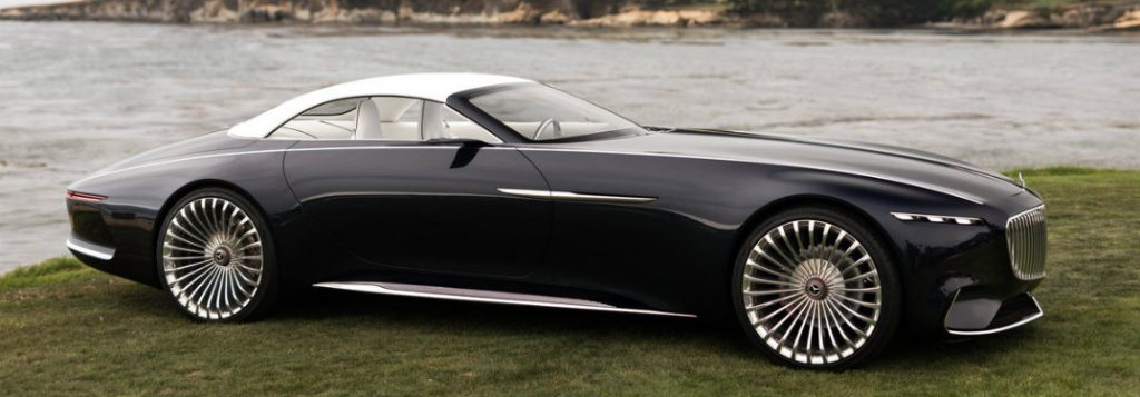 Vision Mercedes Maybach 6 Cabriolet Gallery Star Motor Cars