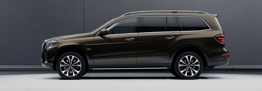 brown side view of the 2018 Mercedes-Benz GLS Grand Edition