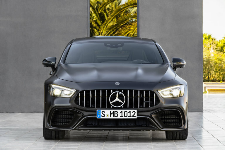 2019 Mercedes Amg Gt Grille View O Mercedes Benz Central Star Motor Cars