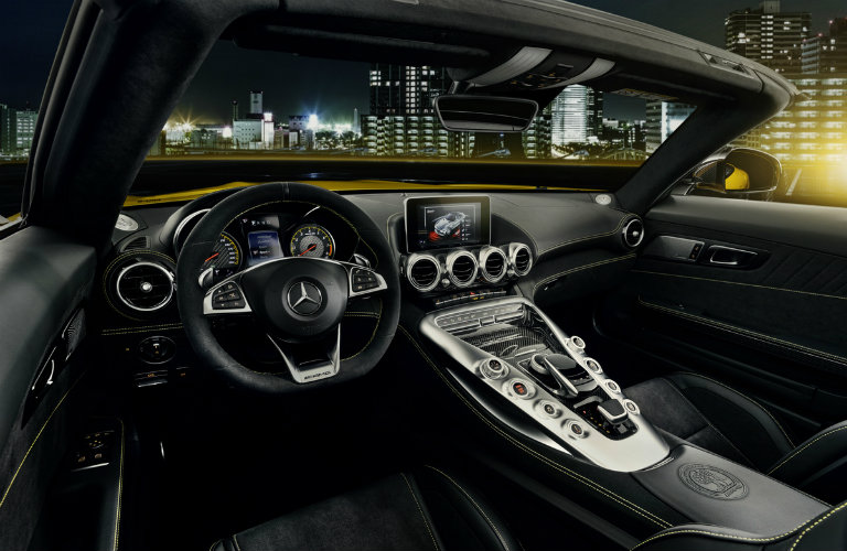 interior of the 2019 Mercedes-AMG® GT Roadster