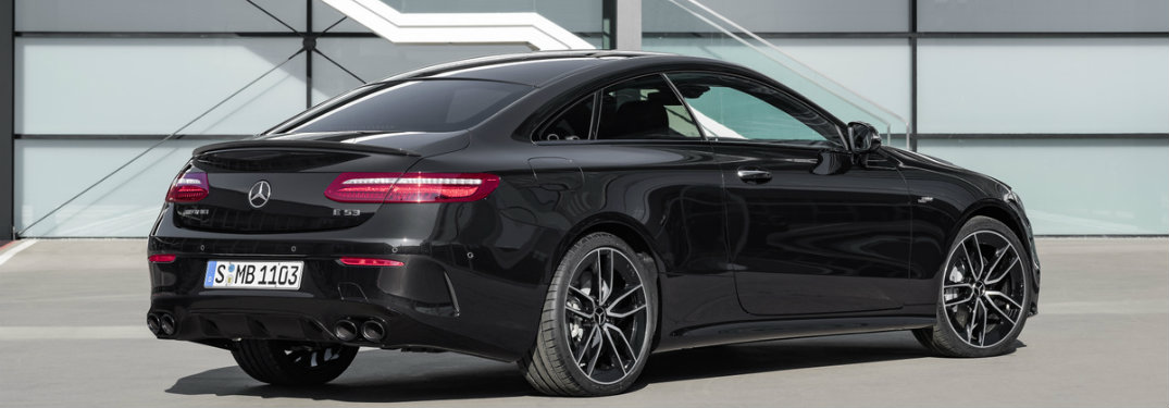 2019 Mercedes-Benz AMG® E 53 Coupe rear view